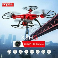 camera syma x8HG red 8MP HD the new drone
