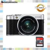 Fujifilm X-A20 Kit 15-45mm XA20 Garansi Resmi FujiFilm Indonesia