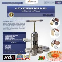 Alat Cetak Mie Manual Stainless Steel 5 Cetakan