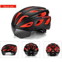 Rockbros 6110 Bicycle Helmet - Helm Sepeda Magnetic Visor Lensa