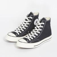 Original Sepatu Converse CT 70s Hi Black White
