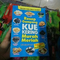 BUKU RESEP GAMPANG KUE KERING MURAH MERIAH