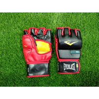 FREE BAG Everlast Evergel Wristwrap Heavy Bag Gloves MMA Boxing