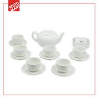 Family Tea Set / Set Minum Teh RESTOMART Kramik (2071106)