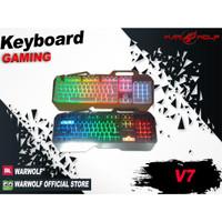 KEYBOARD GAMING WARWOLF V7 RGB
