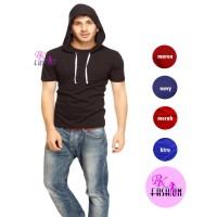 Duli RK kaos pria polos hoodie catton comebed 30s kaos hoodie
