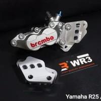 breaker kaliper wr3 brembo 4p yamaha R25/MT25