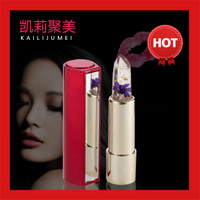 Kailijumei flower jelly lipstick ( lipstik bunga gold 24k )