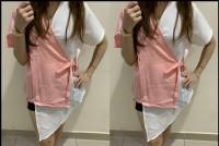 Topkom Peach [Baju Atasan Wanita 0133] SEJ