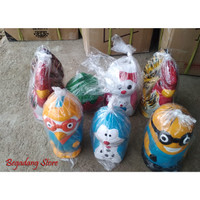 Celengan Tanah Liat Doraemon, Ayam Jago, Macan , Minion, Hello Kitty