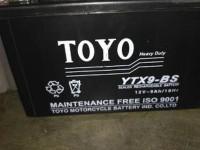 DISKON aki motor toyo YTX 9 BS Untuk kawasaki Ninja 250cc