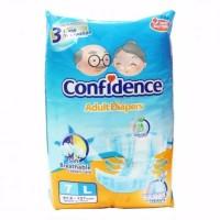 Dsong Confidence Premium Popok Dewasa Ukuran M L satuan