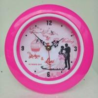 jam dinding murah bisa foto gambar custom