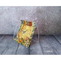 Floral vintage 23 Custom Acrylic Clock Jam Meja akrilik untuk