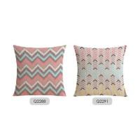 Super Sale Toala Sarung Bantal Dekorasi Sofa Cushion Motif Zigzag -
