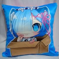 pillow / bantal anime re zero / ram rem 1