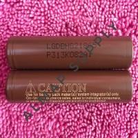 BATTERY LG HG2 18650 3000 MAH - AUTHENTIC - BATERAI FLAT TOP A34