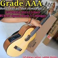 Guitalele elektrik & softcase gitar lele gitarlele mini GL1 supercopy