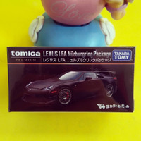 Tomica Premium Lexus LFA Nurburgring Package Hitam Black