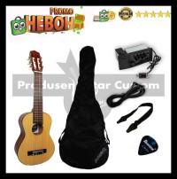 Guitalele Gitarmini Gitarlele Elektrik Yamaha Gl 1 Custom - Hitam Sale