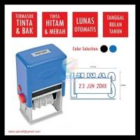 Stempel Cap Stamp Lunas Tanggal Nomor 2 Warna Joyko Otomatis S-71 -