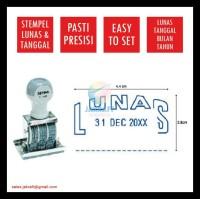 Stempel Lunas & Tanggal Date Stamp S-68 Joyko Kenko Artline Pyramid