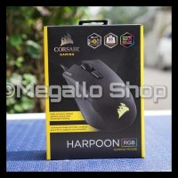 Corsair Harpoon Rgb Gaming Mouse - Hitam Big Sale