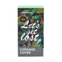 Hits Passport Sarung Koper Get Lost Ukuran L
