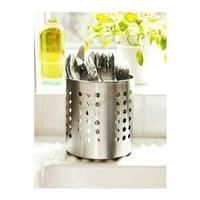 STOK TERBARU IKEA ORDNING tempat sendok wadah stainless baja