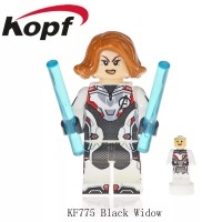 Lego Black Widow Endgame Minifigure Avengers 4 Quantum Suit KF775