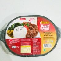 Fiesta Ready Meal Beef Rendang With Rice