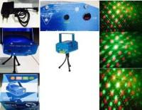 TERBARU Mini Laser Stage Lighting Sensor Music Lampu Disco Party