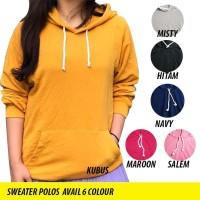 Sweater Wanita / Jaket Sweater -- Sweater Polos / Hoodie Polos