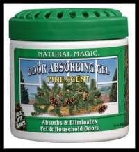 Koleksi Terbaru Natural Magic Odor Absorbing Gels Pine - Putih