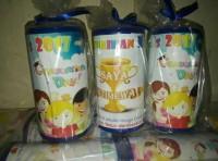 HOT SALE Murah!! Souvenir Celengan Anak Ultah Custom Terjarmin