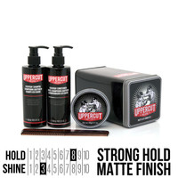 Uppercut Deluxe Matte Clay Pomade Combo Kit