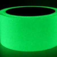 Glow In The Dark Fosfor Stiker Lakban Nyalah Ukuran 48mm x 10.M