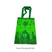 Goodie Bag Hijau Lebaran Idul Fitri Perayaan Kantong Souvenir