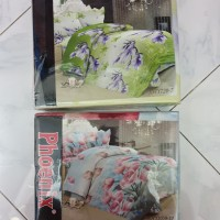 JOSS ONE Sprei Poly ukuran 200 x 200 Bantal 2 Guling 2 Baru Bed Set