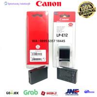 Battery Baterai Batre Canon LP-E12 Li-Ion Canon EOS M M2 M10 100D