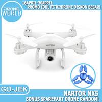 Drone Nartor NX5 dual GPS FPV 1080p FOLLOW ME VS SYMA X5UW DJI SPARK
