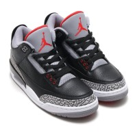Nike Air Jordan 3 Black Cement High Premium Original