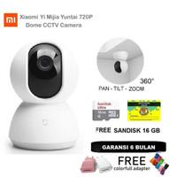 Xiaomi Yi Mijia Yuntai Smart Dome Camera CCTV 720P FREE Sandisk 16GB