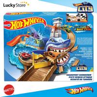 Hot Wheels Track Set - Sharkport Showdown Trackset Color Shifters