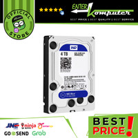 WDC 4TB SATA3 64MB - Blue - WD40EZRZ - Garansi 2 Th