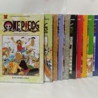Paket Komik One Piece 1-10 Bonus Sampul