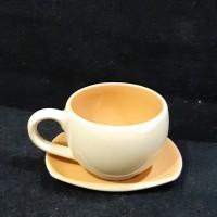 PREMIUM CUP & SAUCER TEA SET MICROWAVE SAFE CRAMIC KERAMIK MURAH BAGUS