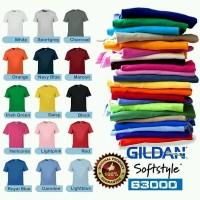 Polo Shirt / Kaos Polo Pria -- Kaos Baju Polos Gildan Softstyle 63000