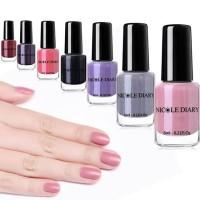 Nail polish NICOLE DIARY matte peel off 6ml/kutek peel off