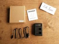 dual cas Charger kamera sony alpha a 5000 5100 6000 6300 6 Berkualitas